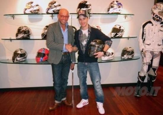 Andrea Dovizioso ed Airoh Helmet dal 2011 insieme