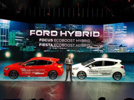 Le nuove Ford Focus e Fiesta Hybrid