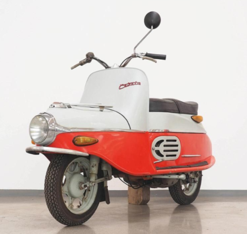Da Vienna un'asta curiosa di scooter e moto d'epoca (2)
