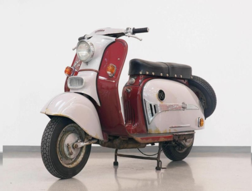 Da Vienna un'asta curiosa di scooter e moto d'epoca (5)