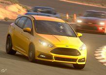 GT Sport e Ford Focus ST, la hot hatch da trackday