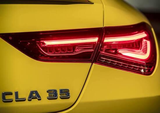 Mercedes-AMG CLA 35, il teaser