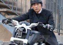 La Harley-Davidson V-Rod Muscle debutta sul grande schermo nel film Green Hornet