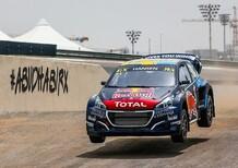 WRX 2019. Abu Dhabi. Prima vittoria per la Peugeot di Kevin Hansen