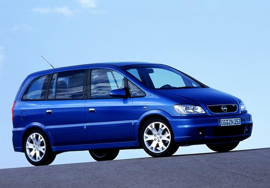La Opel Zafira OPC nata nel 2001