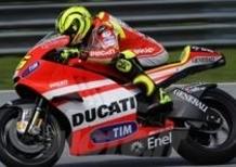 Stoner, Rossi e Capirossi commentano la Ducati