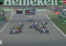 F1, GP Cina 2019: la partenza della gara [Video]
