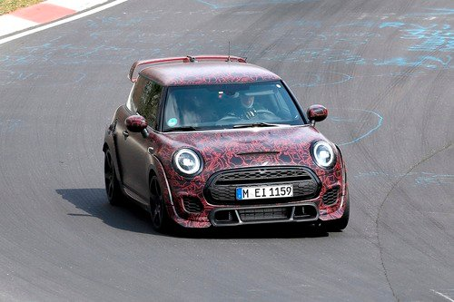 Mini John Cooper Works GP, le foto spia al Ring