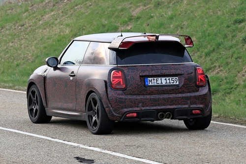 Mini John Cooper Works GP, le foto spia al Ring (7)