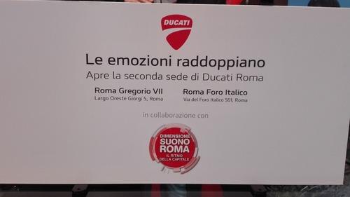 Ducati Roma: festa grande per la doppia location (9)