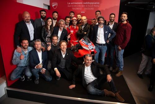 Ducati Roma: festa grande per la doppia location (6)