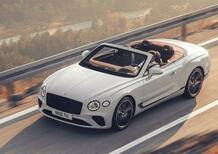 Bentley Continental GTC 2019, capelli al vento per festeggiare i 100 anni [Video]