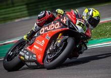 SBK 2019. Giornata di test a Imola per il team Ducati Aruba.it Racing