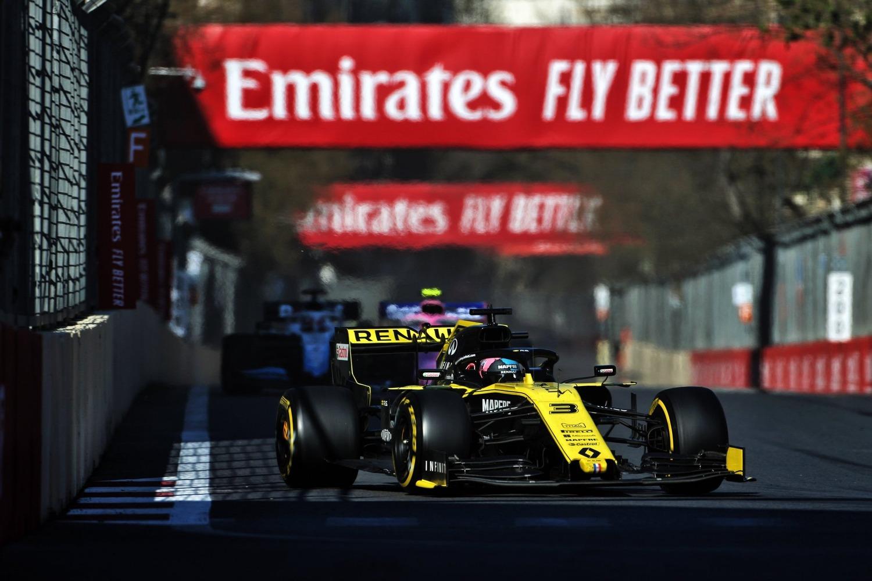 F1, GP Baku 2019: Ricciardo, tamponamento alla Di Maio