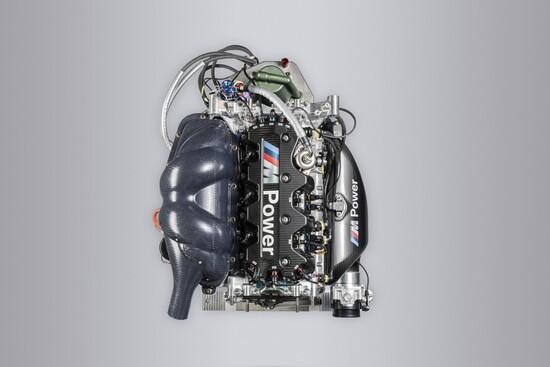 Il nuovo motore turbo montato sulla M4 DTM dal 2019