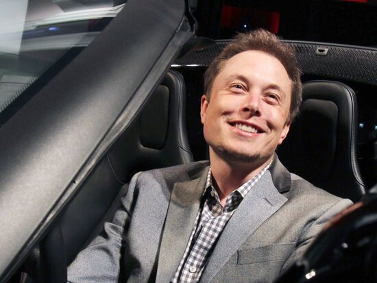 Elon Musk (foto di J. Emilio Flores/Corbis via Getty Images)