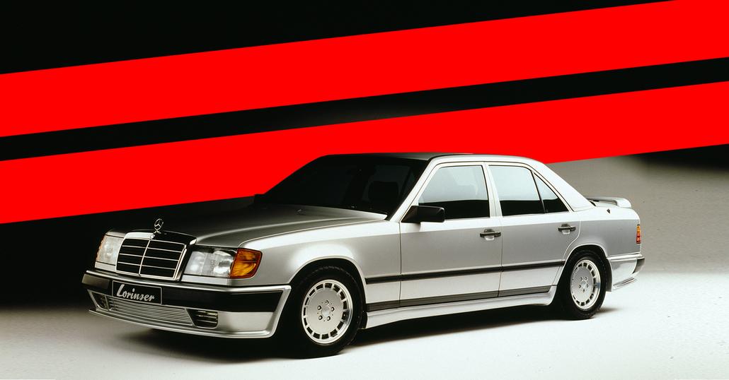 Nuovi cerchi speciali: retrò in stile Mercedes anni Ottanta