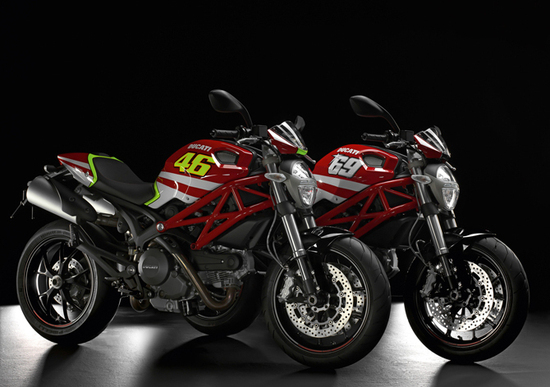 Ducati Monster Rossi e Hayden GP Replica