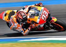 MotoGP. Marquez primo nel warm-up a Jerez