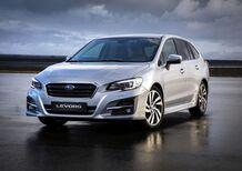 Subaru Levorg, ritocchi con il my 2019