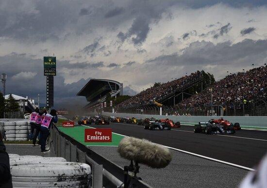 Gp di Spagna, Bottas e Hamilton davanti a tutti nelle seconde libere