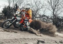 La KTM LC8 950 Rally di Fabrizio e Gioele Meoni