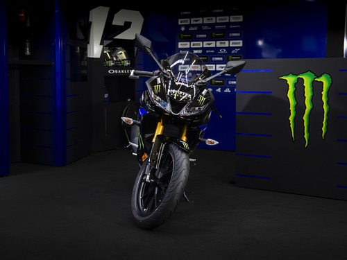 Yamaha YZF-R125 Monster Energy 2019: MotoGP replica (3)