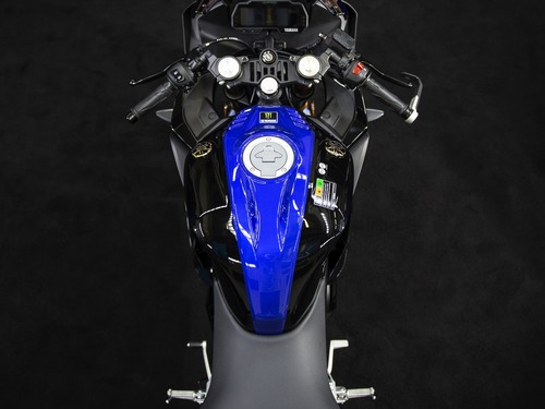 Yamaha YZF-R125 Monster Energy 2019: MotoGP replica (9)