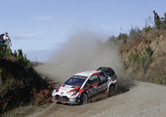 WRC19. Cile. Vince Tanak (Toyota) Esecuzione Perfetta