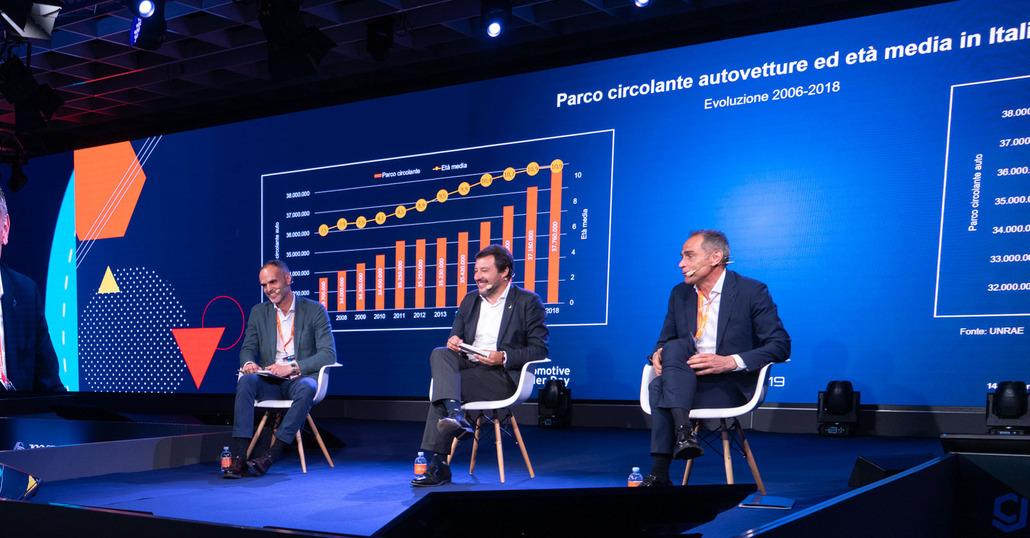 Matteo Salvini:«Mi impegno a portare al 100% la detrazione dell'iva»
