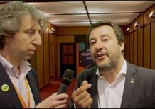 Il ministro Salvini sull'auto: tassazione giù, limiti su ma con controlli spietati, EcoBonus e diesel [video]