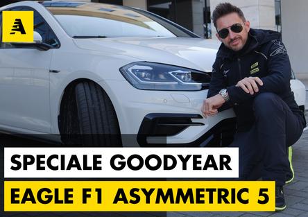 Eagle F1 Asymmetric 5, lo sportivo stradale secondo Goodyear