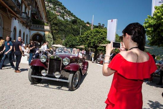 Un'immagine del Concorso di Eleganza di Villa d'Este dello scorso anno