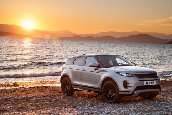 La Range Rover Evoque 2019