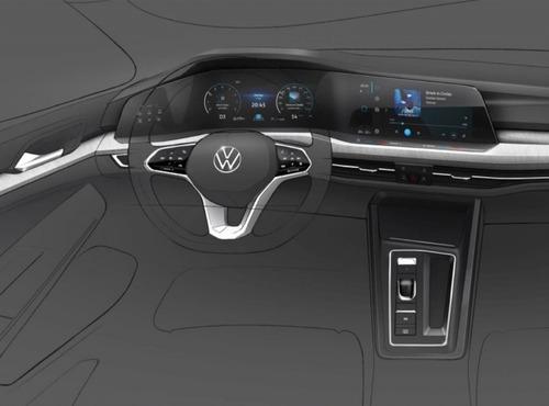 Volkswagen Golf 2020: ecco i primi bozzetti (2)