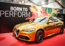 Alfa Romeo Giulia Quadrifoglio, alla Mille Miglia arriva la livrea Ocra