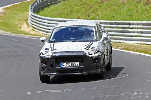 Ford Puma ST, le foto spia al Nürburgring (2)
