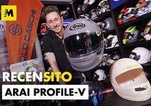 Solocaschi. Recensione casco Arai Profile V