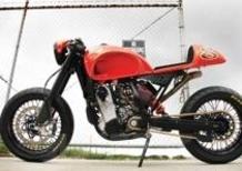KTM EXC 525 Cafè Racer