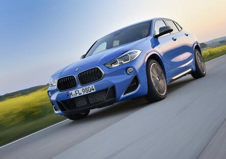 BMW X2 M35i 2019. Accenno di Serie 1 sportiva? Non ancora