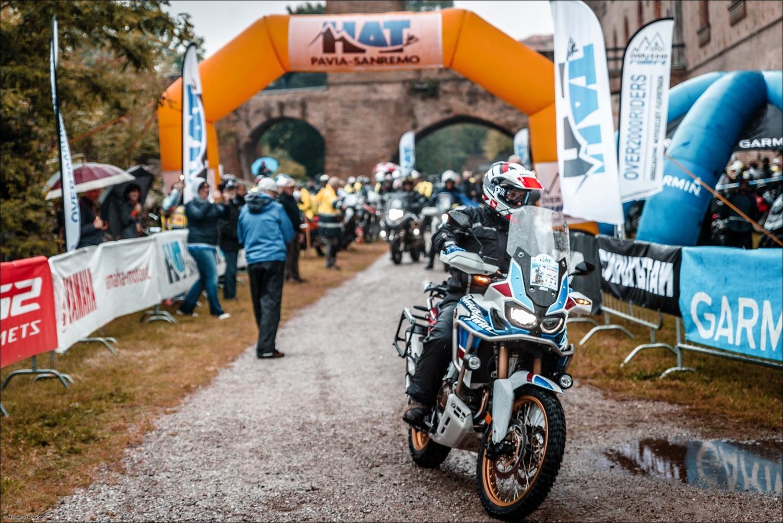 HAT Pavia-Sanremo 2019. L'avventura per le maxi enduro