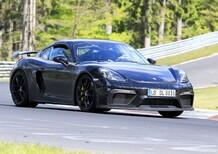 Porsche 718 Cayman GT4: eccola al Nürburgring [Foto spia]