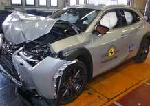 Crash test Euro NCAP, Mazda 3 al top dopo l'ultima sessione di test