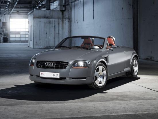 La primissima Audi TT Roadster