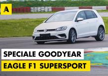 Pneumatici Goodyear Eagle F1 SuperSport: test drive su Golf R, strada e pista [video]