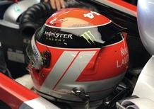 F1, GP Monaco 2019: casco Lauda 1984 per Hamilton