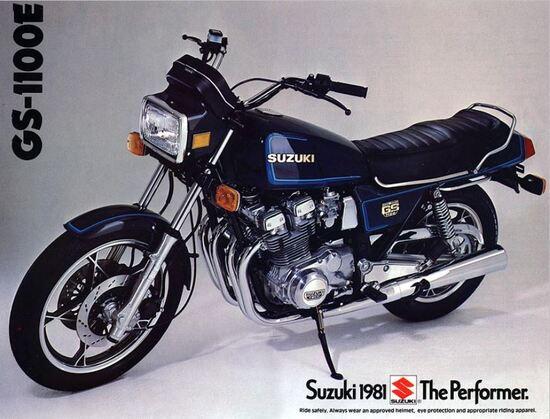 Suzuki GSX 1100E