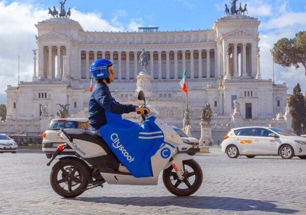 Cityscoot a Roma, nuovo servizio di sharing elettrico
