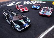 Ford GT: alla 24 ore di Le Mans con 5 livree celebrative