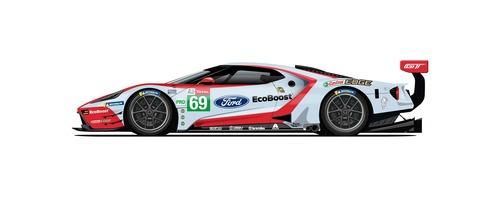 Ford GT: alla 24 ore di Le Mans con 5 livree celebrative (2)